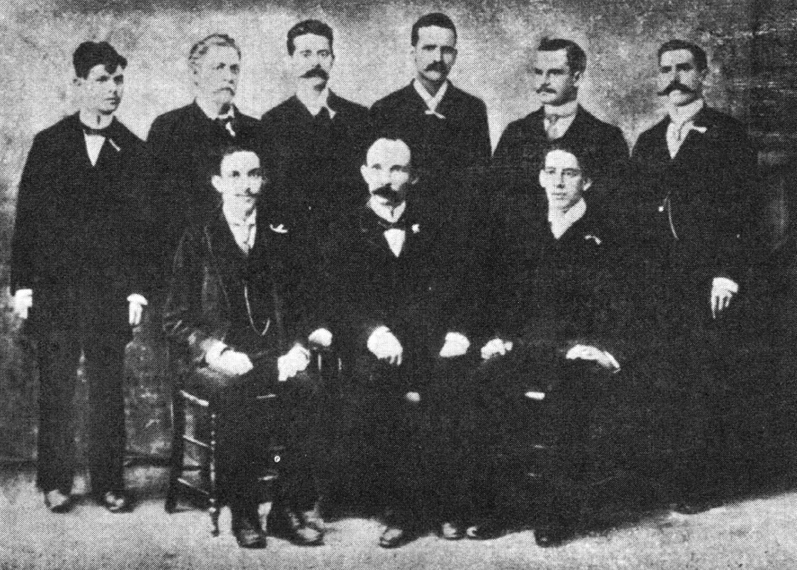Fundadores del Partido Revolucionario cubano en Key West
