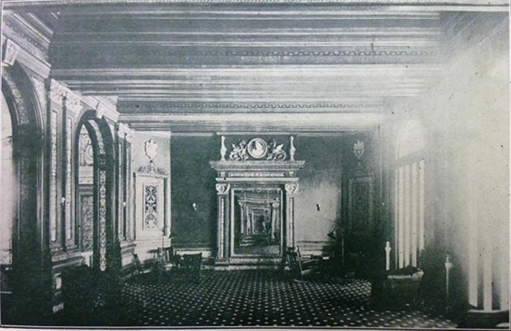Gran salón de fiestas, 1925