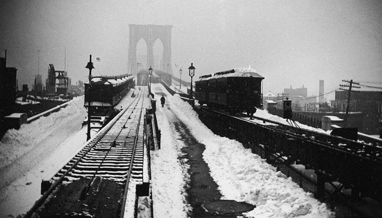 Gran tormenta de nieve en Nueva York, 1888