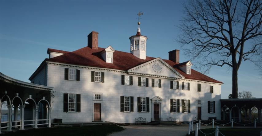 Hogar de George y Martha Washington, actual Museo Mount Vernon