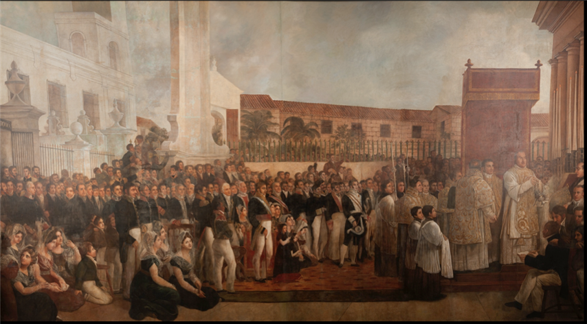 Jean-Baptise Vermay, The Inauguration of El Templete, 1828 (Small)