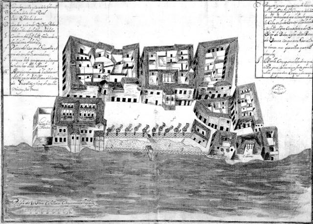 Plaza de San Francisco, llamada del Cuerpo de Guardia, siglo XVII