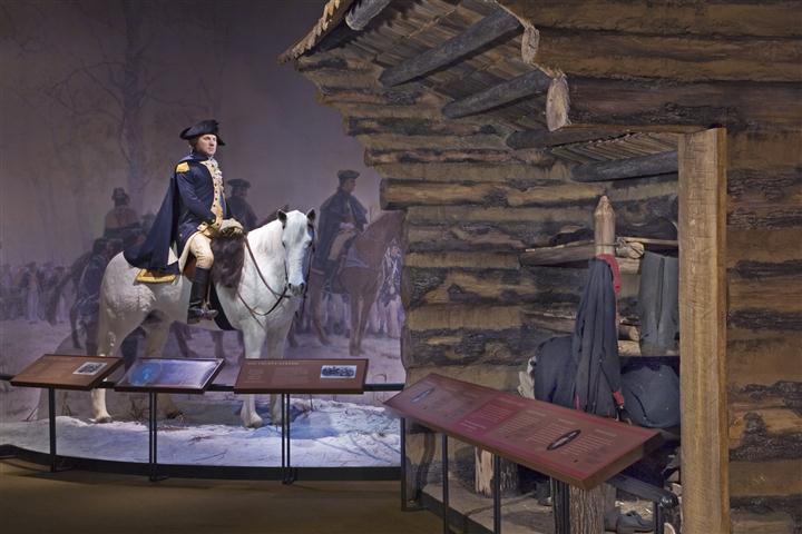 Sala expositiva del Museo Mount Vernon