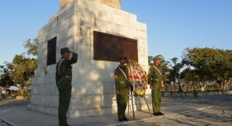 En su histórico escenario fue recordada la Protesta de Baraguá. Foto Eduardo Palomares Calderó