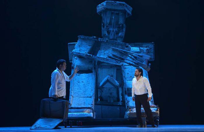 Opera Tannhäuser, del compositor alemán Richard Wagner, en el Gran Teatro de La Habana Alicia Alonso. Foto: Yander Zamora