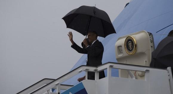 Llegada de Barack Obama a Cuba. Foto: Ismael Francisco/ Cubadebate