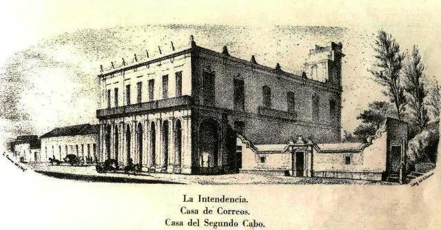 Palacio del Segundo Cabo-S. XVIII