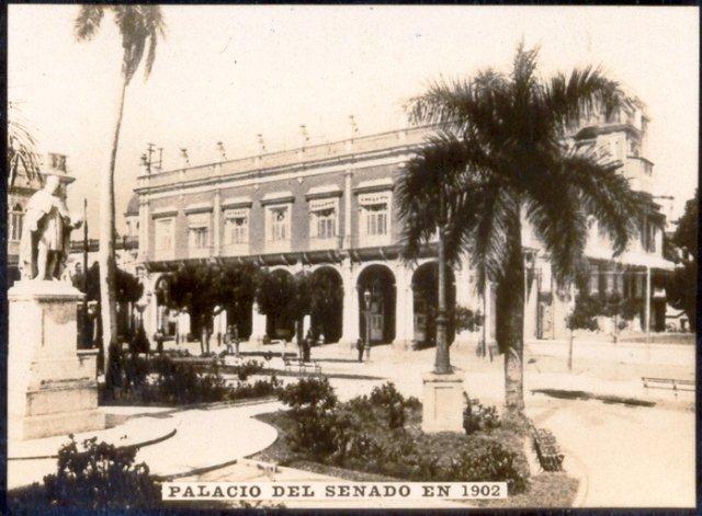 Palacio del Segundo Cabo, 1902