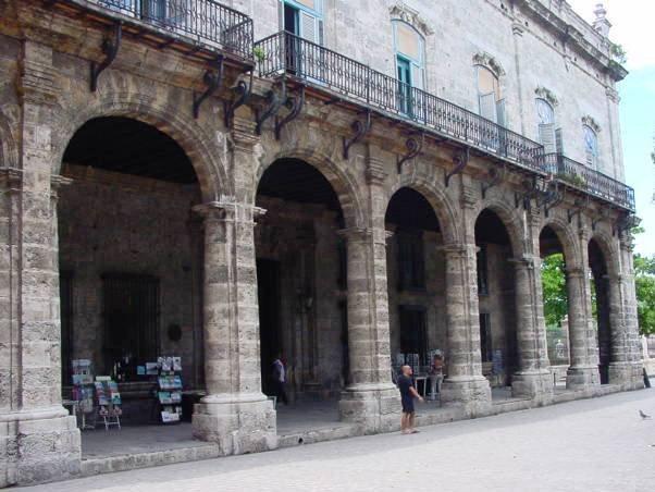 Palacio del Segundo Cabo. Editorial, años '90
