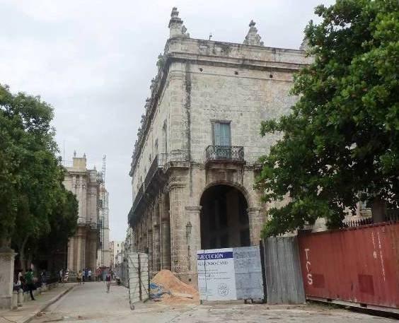 Palacio del Segundo Cabo, obras de restauración