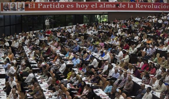 VII Congreso del Partido. Foto: Ismael Francisco/ Cubadebate