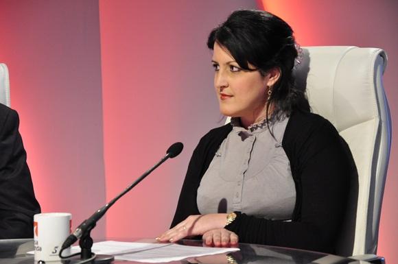 La joven periodista y Subdirectora de Juventud Rebelde, Yailín Orta Rivera. Foto: Roberto Garaicoa