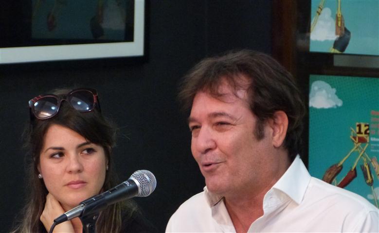 Jorge Perugorría, actual preseidente del Festival de Cine Pobre