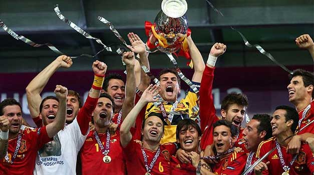 Espana Eurocopa, 2012