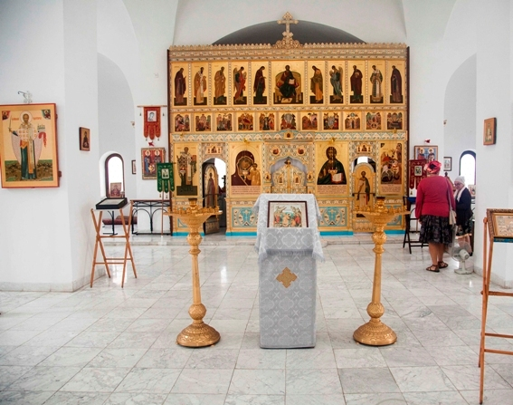 Iglesia Ortodoxa Rusa, interior