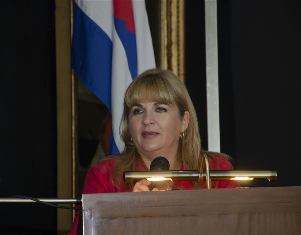 Magda Resik, Directora de Habana Radio y de Comunicación de la OHCH