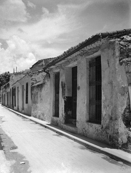 Callejón de Peña Pobre, 1949