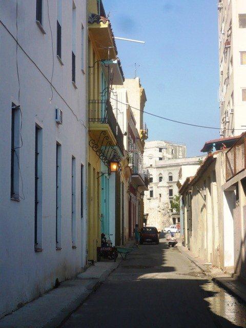 Calle Peña Pobre, actual