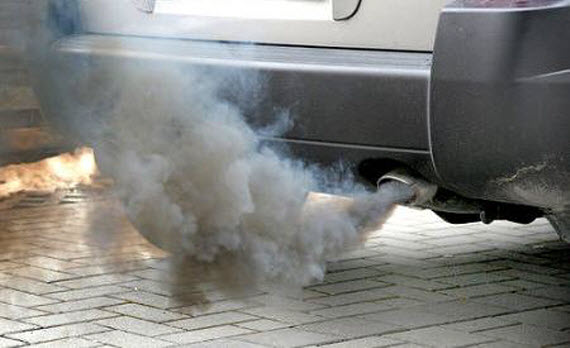 Contaminación por el transporte