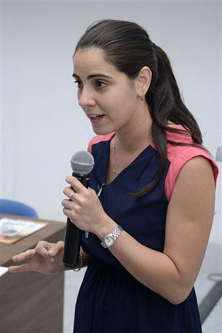 Ingrid Fernández Pérez, especialista del Programa Social Infantil de Gestión Cultural