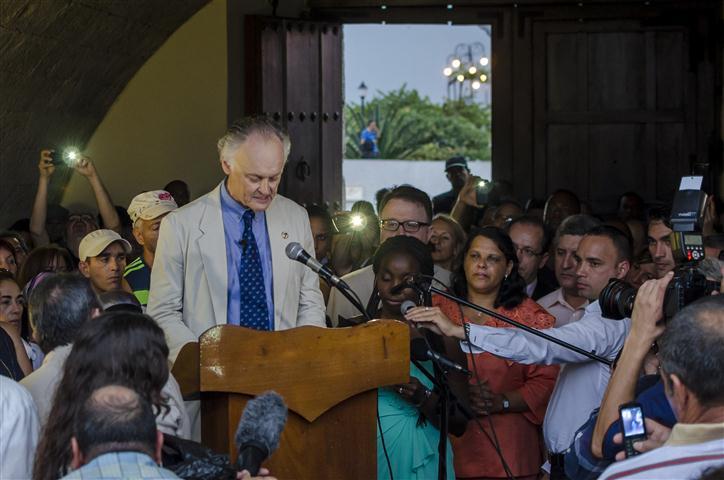 El Sr. Bernard Weber, presidente de la fundación suiza New7Wonders (Foto: Cris Erland)