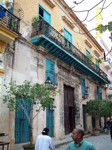 Amargura 56, obras de recuperación de fachada