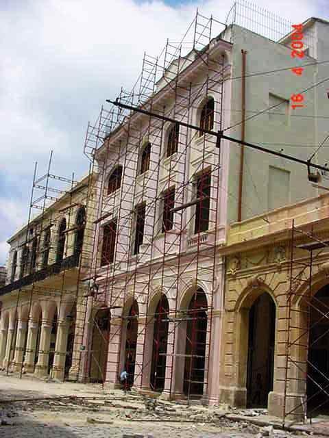 Compostela 661, el edificio en obras