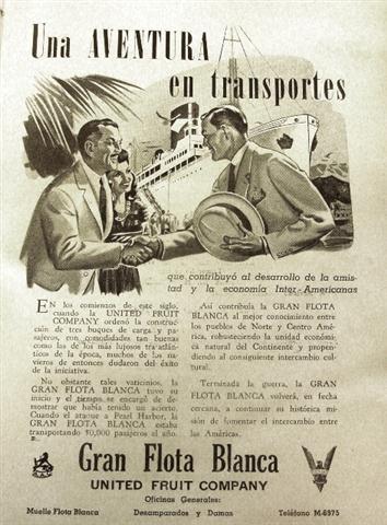Anuncio, década de 1940