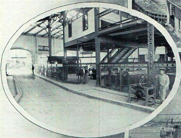 Interior del Emboque de Luz, 1913