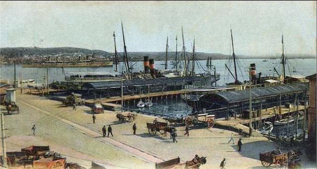 Muelle de Luz, 1905