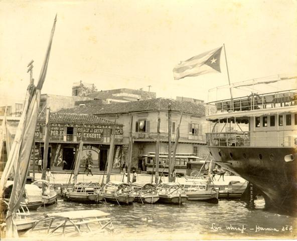 Muelle de Luz, principios del siglo XX