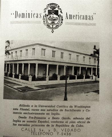 Anuncio de las Hermanas Dominicas Americanas, 1925 (Small)