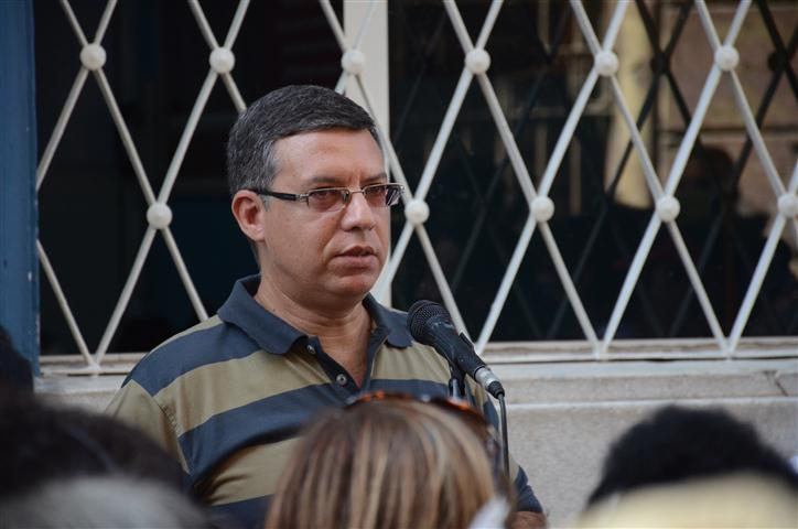Félix Julio Alfonso, historiador y vicedecano del Colegio Universitario San Gerónimo de La Habana