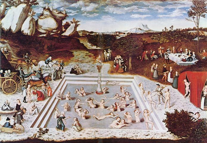 La Fuente de la Juventud de Lucas Cranach El Viejo (1472-1553)