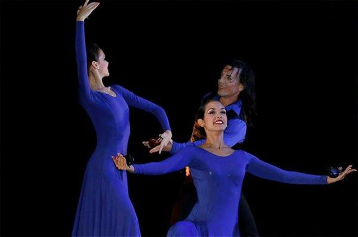 Otro de los momentos del Ballet Español de Cuba en Concierto