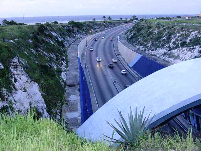 Túnel hacia el Este de La Habana