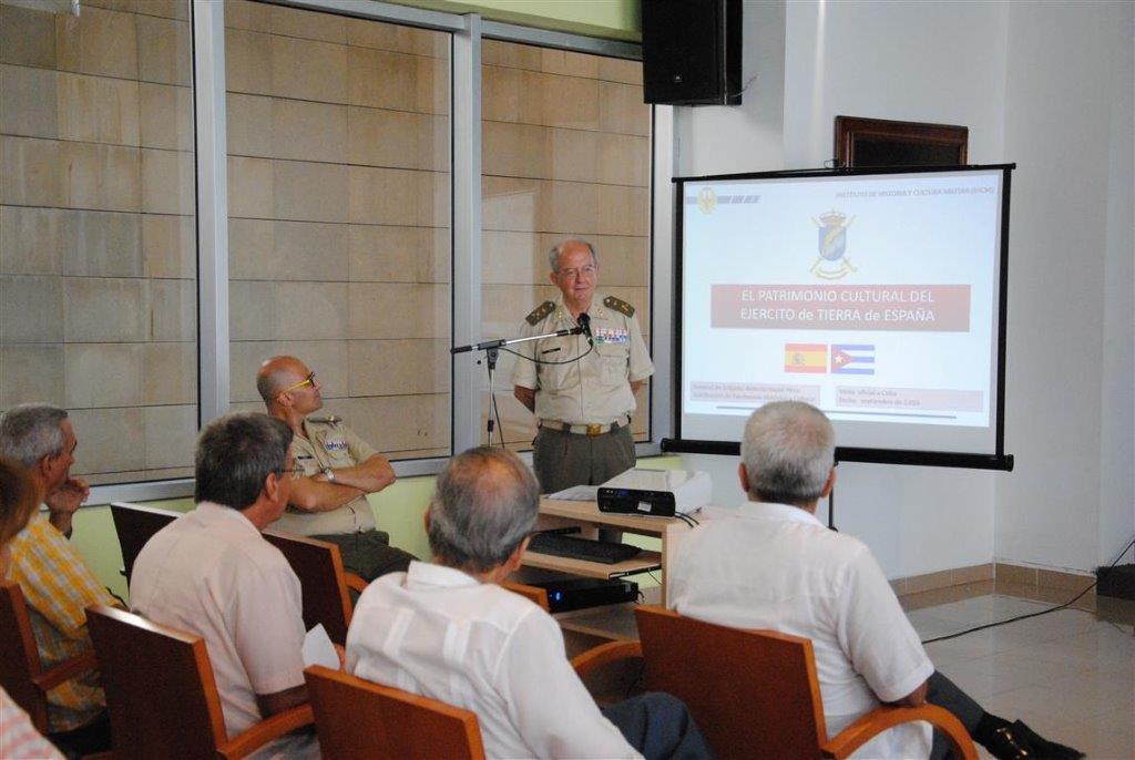 Ponencia del General Antonio Nadal López, Subdirector del Instituto de Historia y Cultura Militar de España