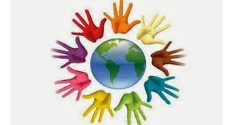 logo dia mundial personas sordas