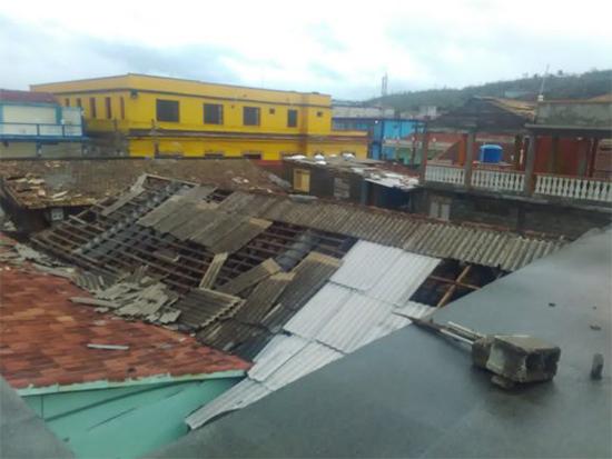 En Baracoa fueron evacuadas casi 36 mil personas, de las cuales unas 26 mil 500 están alojadas en casas de otras familias. Foto:: Cubadebate