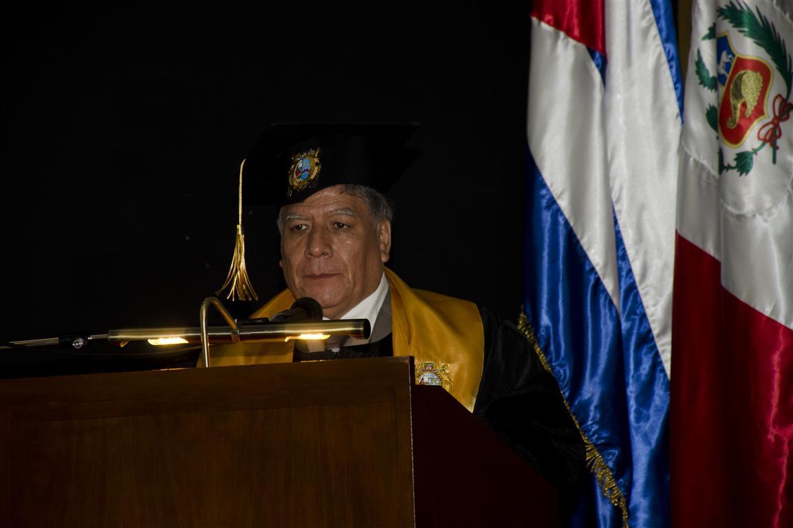 Doctor Orestes Cachay Boza, Rector de la Universidad Nacional Mayor de San Marcos