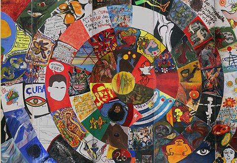 Mural Colectivo Cuba, 1967