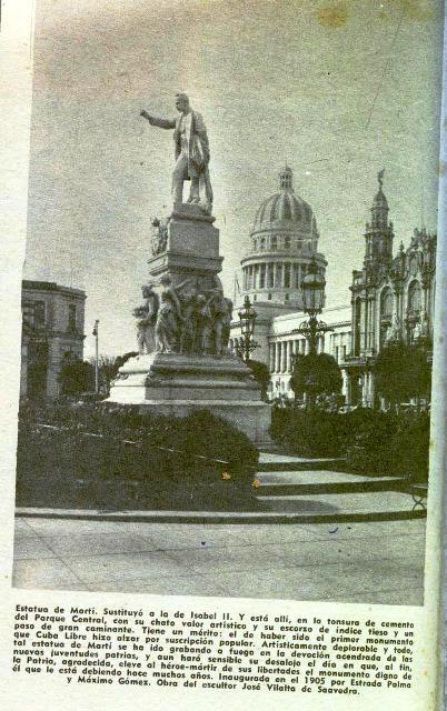 2-Estatua de Martí en el Parque Central