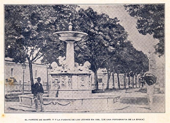La fuente en el paseo del Prado