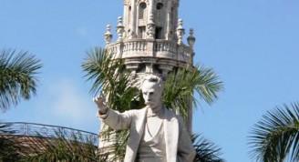 4-vista actual de la estatua de José Martí