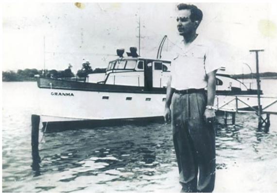 El mexicano Antonio del Conde fue quien le vendió a Castro el Granma