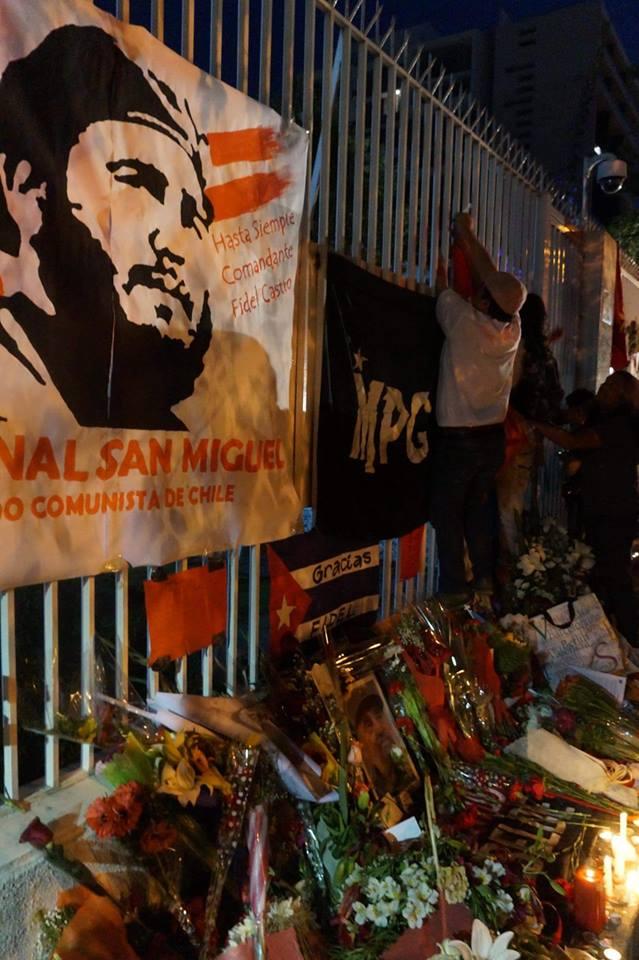 Chilenos por Fidel