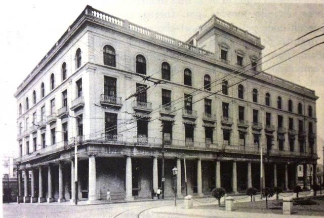 El edifico en 1925