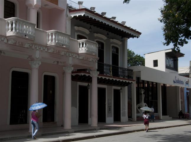 Fachada del Museo Provincial y de la Casa Natal de Carlos Manuel de Céspedes
