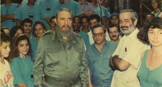 Fidel y Leal en la escuela
