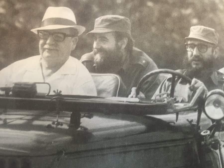 Histórica visita de Fidel a Chile junto a Salvador Allende